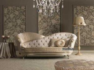 Sofa Luxury Mewah Jok Bagus Empuk Kayu