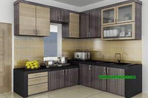 Kitchen Set Minimalis Solid Kayu