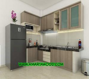 Kitchen Set Kayu Minimalis Kuat