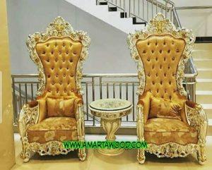 Sofa Teras Ukiran Mewah Terlaris