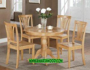 meja makan desain baru cantik mewah