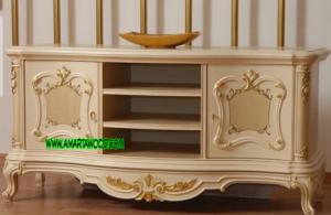 Cabinet Vintage Ukir Mewah Terbaru
