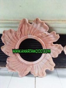Cermin Ombak Ukir Mewah Murah Jepara   www.amartawood.com