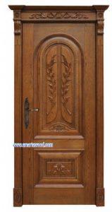 Pintu Mewah Jati Desain Jepara Murah