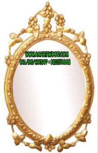 Cermin Ukiran Cantik Kayu Mewah