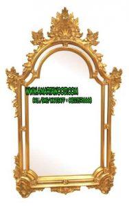 Cermin Ukiran Mewah Mahkota Jepara