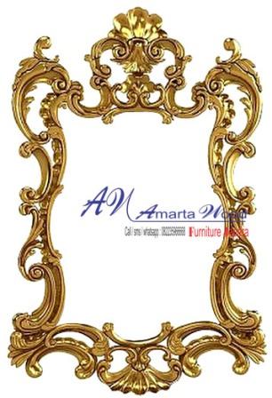 Cermin Dinding Ukir Mewah Klasik Baru