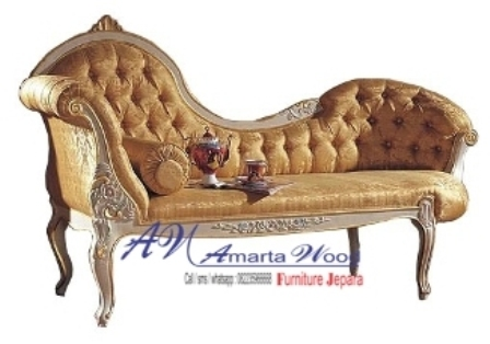 Sofa Minimalis Ukir Murah Emas
