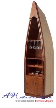 Rak Perahu Baru Minimalis Antik