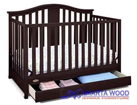 Tempat Tidur Anak Box Bayi Jati