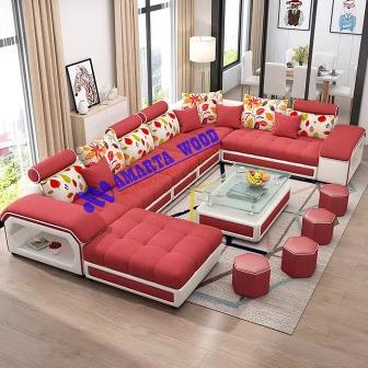 Sofa Set Mewah Ruang Tamu Minimalis